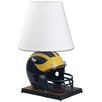 "<strong>Wincraft, Inc.</strong> Collegiate NCAA Deluxe Helmet 24"" H Table Lamp with Empire Shade"