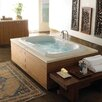 "Jacuzzi® Bellavista 66"" x 42"" Right Hand Chroma Whisper Whirlpool Tub"