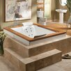 "<strong>Fuzion 71.75"" x 59.75"" Whirlpool Tub</strong> by Jacuzzi®"