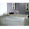 "Jacuzzi® Amiga® 72"" x 36"" Skirted Whirlpool Tub with Left Drain and Heater"