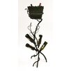 <strong>Creative Creations</strong> ArtDeco 4 Bottle Wine Rack