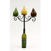 <strong>Creative Creations</strong> Xiafeng Wine Top Iron Candelabra