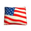 Dogzzzz Rectangle American Flag Dog Pillow
