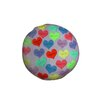 Round Hearts Dog Pillow