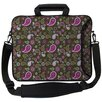 <strong>Designer Sleeves</strong> Executive Sleeves Paisley 2 PC Laptop Bag