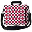 <strong>Designer Sleeves</strong> Executive Sleeves Polka Dots PC Laptop Bag
