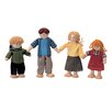 <strong>Plan Toys</strong> Dollhouse Doll Family of 4