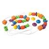 <strong>Plan Toys</strong> Preschool Lacing Bead Set