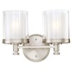 Nuvo Lighting Decker 2 Light Bath Vanity Light