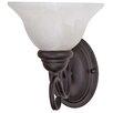 <strong>Nuvo Lighting</strong> Castillo  1 Light Wall Sconce