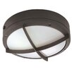 <strong>Nuvo Lighting</strong> Hudson 2 Light Wall Sconce with Cross Grill