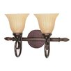 <strong>Nuvo Lighting</strong> Moulan 2 Light Vanity Light