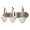 <strong>Nuvo Lighting</strong> South Beach 3 Light Vanity Light