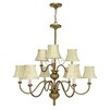 <strong>Nuvo Lighting</strong> Vanguard 9 Light Chandelier