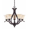 <strong>Nuvo Lighting</strong> Anastasia 6 Light Chandelier