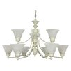 <strong>Nuvo Lighting</strong> Empire 9 Light Chandelier
