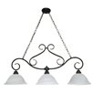 <strong>Nuvo Lighting</strong> Castillo 3 Light Chandelier