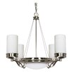 <strong>Nuvo Lighting</strong> Polaris 6 Light Chandelier