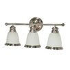 <strong>Nuvo Lighting</strong> Palladium 3 Light Vanity Light