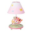 "Guidecraft Butterfly Buddies 19"" H Table Lamp with Empire Shade"