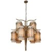 Varaluz Occasion 9 Light Chandelier