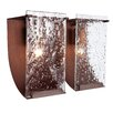 <strong>Rain Recycled 2 Light Bath Vanity Light</strong> by Varaluz