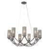 Varaluz Casablanca 9 Light Chandelier