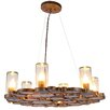 Varaluz Fascination 6 Light Chandelier