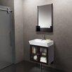 "Vigo 26"" Bathroom Vanity Set with Single Sink"