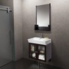 "Vigo 26"" Single Bathroom Vanity Set with Mirror"