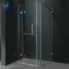 <strong>Pivot Door Frameless Shower Enclosure</strong> by Vigo