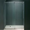 "Vigo 72"" W x 74"" H Sliding Shower Door"