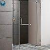 """<strong>54"""" W x 72"""" H Pivot Shower Door</strong> by Vigo"""
