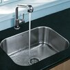 "<strong>Vigo</strong> 23"" x 17.75"" Undermount Kitchen Sink"