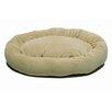 Zoey Tails Microfiber Bagel Dog Bed