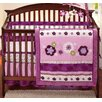 <strong>Pretty in Purple Secure-Me Mesh Crib Liner</strong> by NoJo