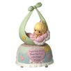 Precious Moments Precious Little Blessings Baby Girl Musical Figurine