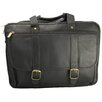 David King Leather Laptop Briefcase