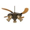 "Fanimation 43"" Air Shadow 5 Blade Ceiling Fan with Remote"