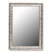 <strong>Antique Mayan Silver Framed Wall Mirror</strong> by Hitchcock Butterfield Company