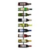 Oenophilia 9 Bottle Wine Ledge Wall Rack