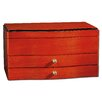 Maplewood Classic Jewelry Box in Light Wood Finish
