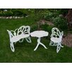 <strong>Butterfly 3 Piece Bench Seating Group</strong> by Flowerhouse