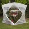 <strong>Flowerhouse</strong> Bloomhouse 7' x 7' Polyethylene Greenhouse