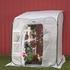 <strong>Flowerhouse</strong> Hothouse 6' x 6' Polyethylene Lean-To Greenhouse