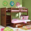 <strong>Weston Twin over Full Staircase Bunk Bed with Optional Storage</strong> by Discovery World Furniture