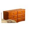 Discovery World Furniture Weston 6-Drawer Dresser