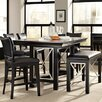 Najarian Furniture Milano 7 Piece Counter Height Dining Set