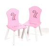 Najarian Furniture Missy Couture Kid's Desk Chair (Set of 2)