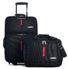 <strong>Manchester 2 Piece Luggage Set</strong> by Olympia
